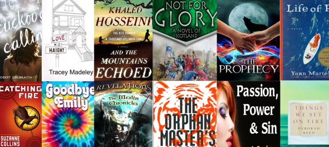 2013 Countdown – A Year of Reading in Review
