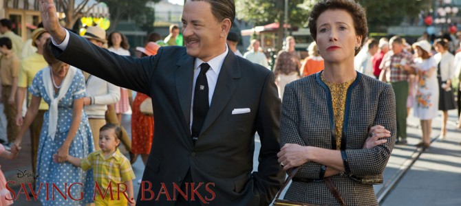 Movie Review: Saving Mr. Banks – It's not about the children