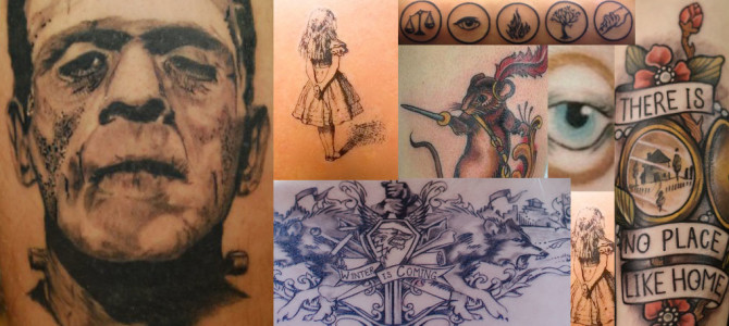 Wanting new ink? Consider some of the literary variety